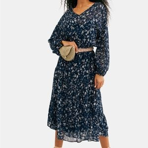 Free People Wallflower MIDI Dress NWT $148
